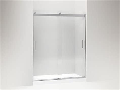 kohler levity shower door kohler k 706009 l levity frameless sliding shower door