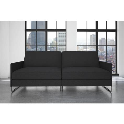 home depot futon dhp pembroke convertible futon 2165429 the home depot