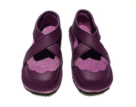 Handmade Childrens Shoes - handmade leather children s shoes purple and mauve