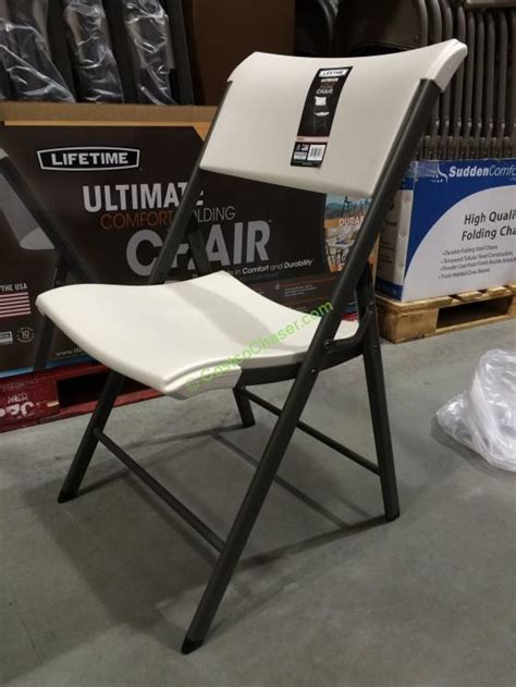 Lifetime Tables Costco by Lifetime Products Folding Chair Model 80074 Costcochaser
