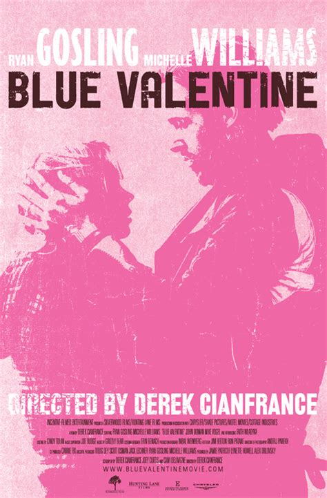 film blue valentine 2010 blue valentine film posters on behance