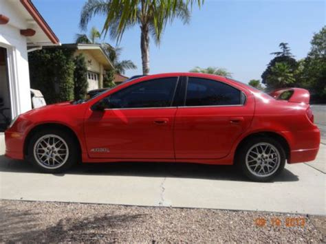 2005 dodge neon srt 4 acr for sale sell used 2005 dodge srt 4 acr in san diego california