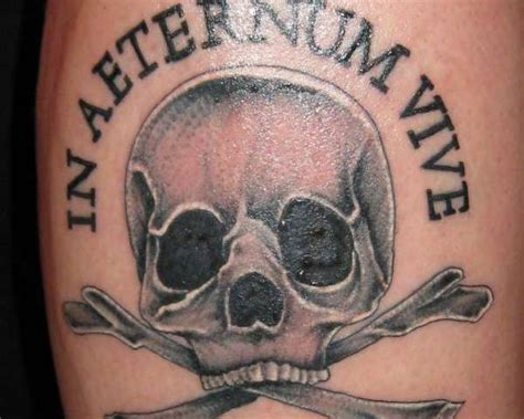 live forever tattoo designs live forever quot the pirate flag symbol with a liner meaning