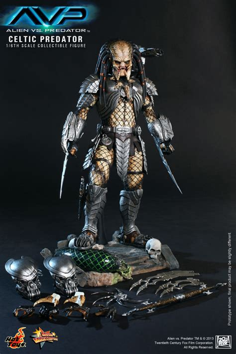 hot toys predator hot toys celtic predator collectible figure plastic and