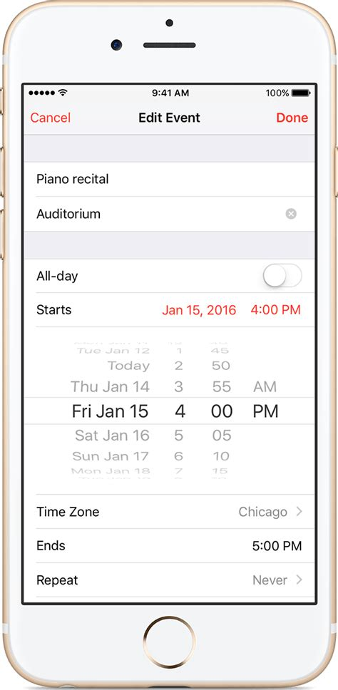 Calendar App Iphone Keep Your Calendar Up To Date With Icloud Apple Support