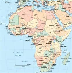 Current Map Of Africa by Africa Political Map Cities Images Amp Pictures Becuo