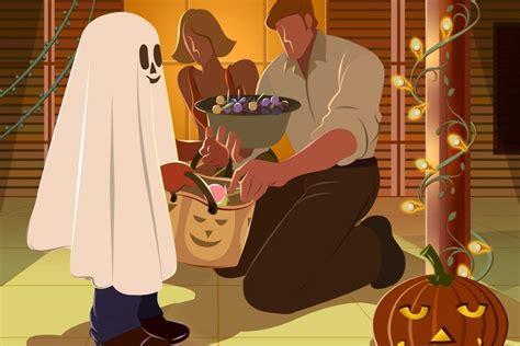 imagenes de halloween niños pidiendo dulces ni 241 o pidiendo caramelos en la noche de halloween 71092