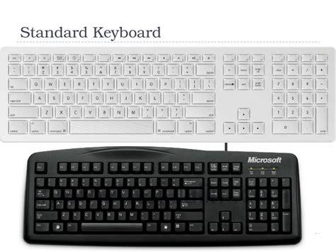 Keyboard Standar computer keyboard