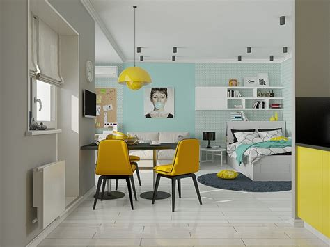 28 square meters apartment design 4 small beautiful apartments under 50 square meters