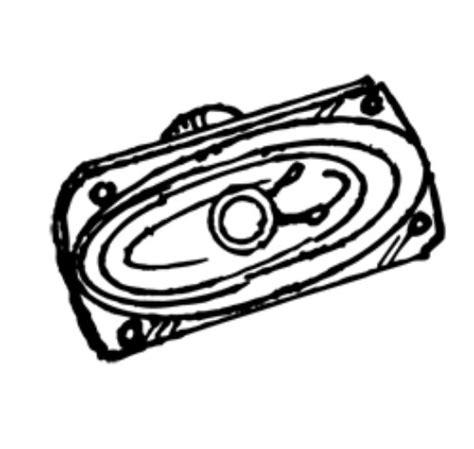 Speker Oval oval speaker
