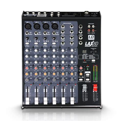 Audio Mixer Necxo Ld 1200m lax8d ld systems lax8d audiofanzine