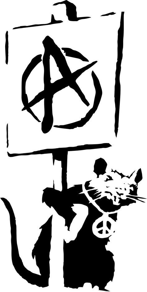 rat by banksy artwork by dmntmb on deviantart