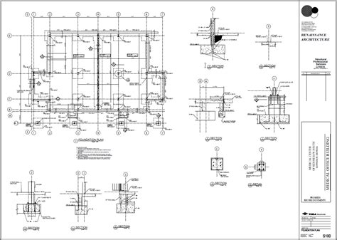 foundation layout exles exle foundation plan tekla user assistance