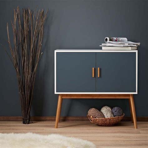 vintage retro side board wooden cabinet wood mid century