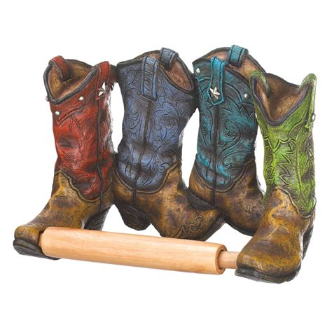 wholesale cowboy boots toilet paper holder buy wholesale