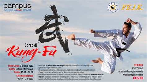 kung fu pavia corso di kung fu cus aquae