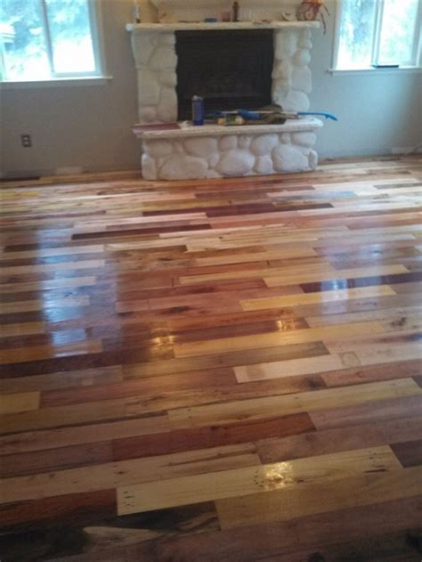 Pallet Board Flooring by Diy Project Pallet Wood Floor Page 3 Home Design