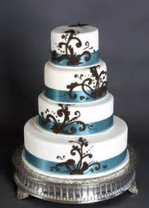 braune kuchen wedding cakes pictures brown and blue wedding cakes