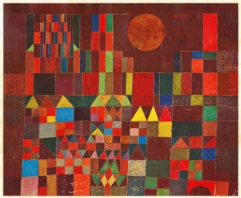 libro kubismus castle and sun 1928 paul klee wikiart org