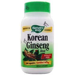 Nature Health Korean Gingseng 100 nature s way korean ginseng root on sale at allstarhealth