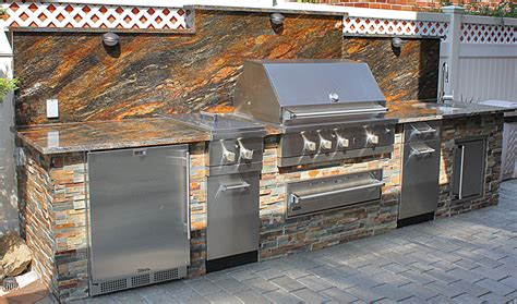 viking outdoor kitchens artistic design nyc fireplaces and outdoor kitchens