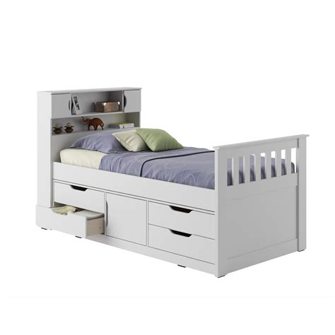 sears twin bed twin white captain bed sears com