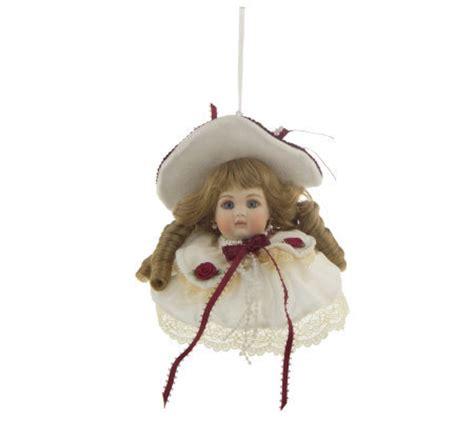 porcelain doll ornaments inspired porcelain doll ornament by osmond