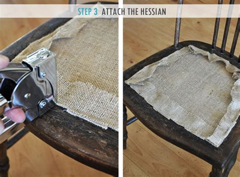 how to upholster a seat pad the painted hive how to upholster a chair attached seat