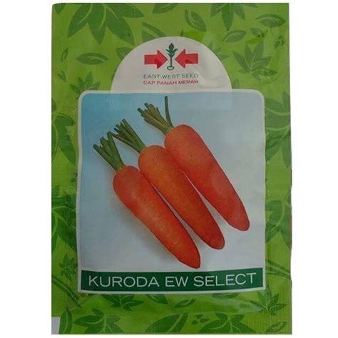 Benih Wortel Kuroda benih panah merah wortel kuroda ew select 25 gram jual