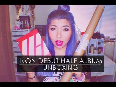 Ikon Welcome Back Debut Half Album unboxing ikon 아이콘 debut half album welcome back