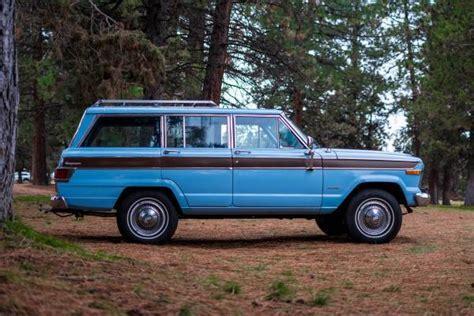 jeep wagoneer blue wedgewood blue 1979 jeep wagoneer bring a trailer
