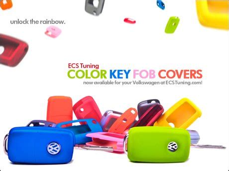 colored key covers ecs news volkswagen color key fob covers