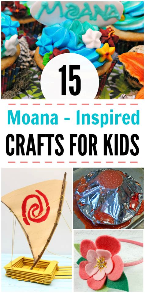 disney inspired crafts and activities for kids family 15 moana inspired crafts for kids the mommyhood life