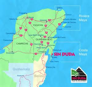 Costa Maya Mexico Map by Sin Duda Villas Xcalak Mexico Costa Maya Mahahual