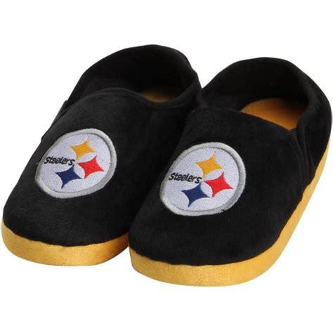 steeler slippers pittsburgh steelers slippers steelers comfy