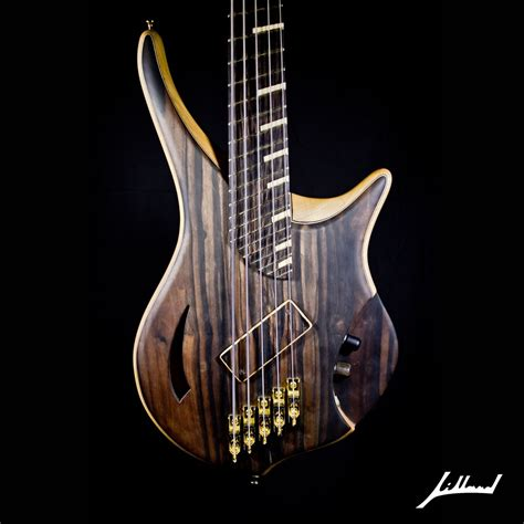 Handmade Bass Guitars - crafted jillard imperial bass by jillard guitars