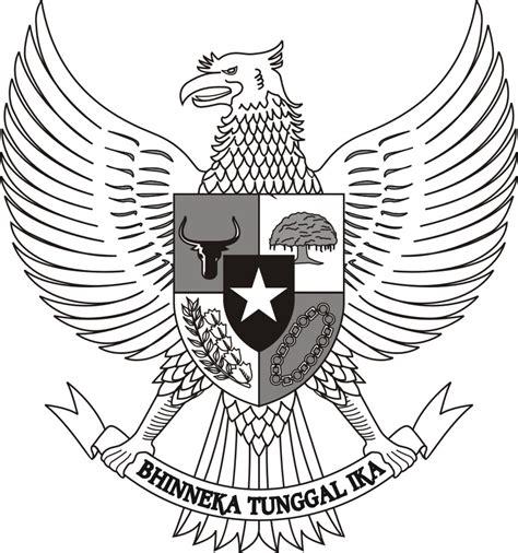 Odiaz Jam Dinding Lambang Garuda logo mtsn kutamakmur