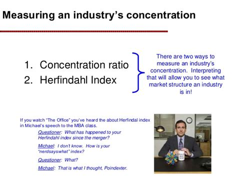 Do You To A Concentration In Mba by Market Concentration