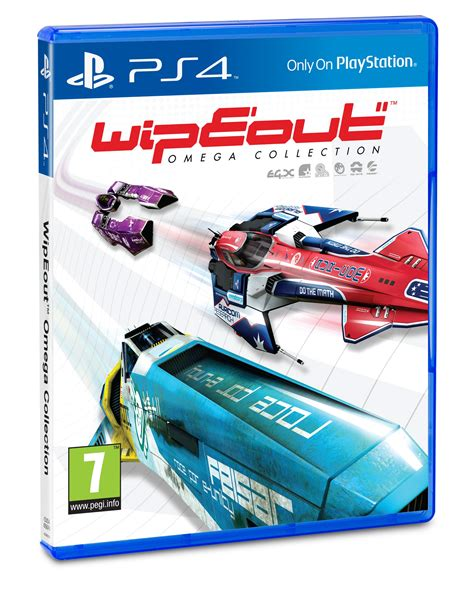 Wipeout Omega Collection Ps4 wipeout omega collection s anti grav league opens 6th june