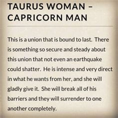 capricorn woman and taurus man in bed capricorn man on pinterest