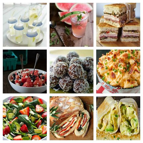 picnic food and ideas