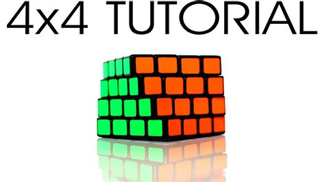 solving 4x4 rubik s cube tutorial how to solve a 4x4 rubik s cube youtube