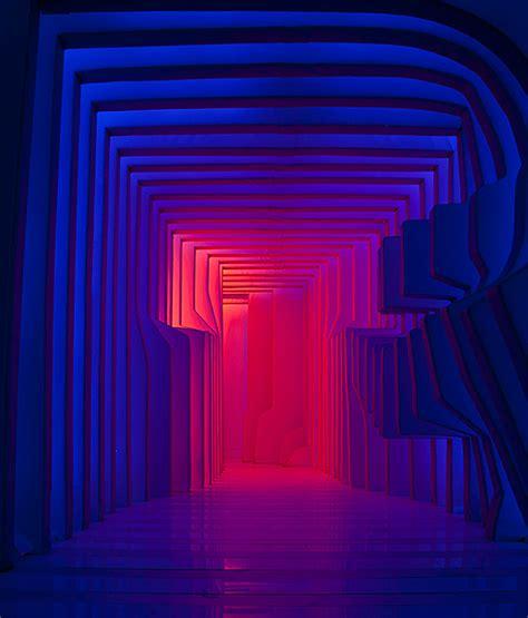 lights installation stratified light installation 8 fubiz media