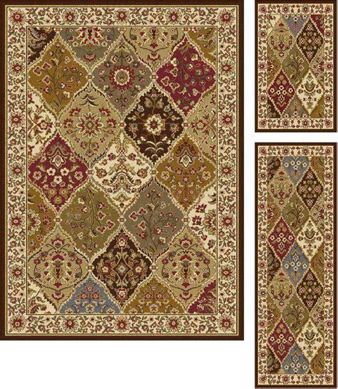 kmart area rug sets tayse rugs elegance cambridge multi traditional area rug 3 set home home decor rugs
