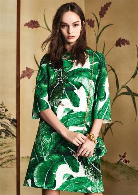 Dg Dolce Gabbana Tote Bag May Eat Flies by Dolce Gabbana Banana Leaf Collection Luxury Wear