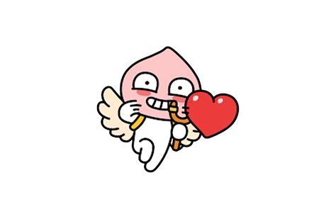 Cupida Cupido Shooting Gel Foot 2 Pcs quot kakaotalk friends apeach 어피치 cupid shooting quot laptop skins by icdeadpixels redbubble