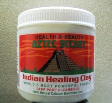 Bentonite Clay Detox Cancer by Aztec Secret Indian Healing Clay For Skin Detox