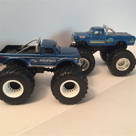 wheels bigfoot truck bigfoot wheels replica build paul b trucks