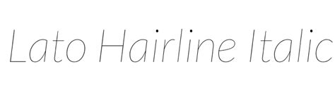 typography hairline josefin sans thin italic font