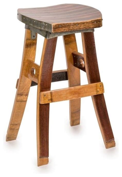 Swivel Bar Stools No Back Wine Barrel Swivel Barstool No Back Farmhouse Bar